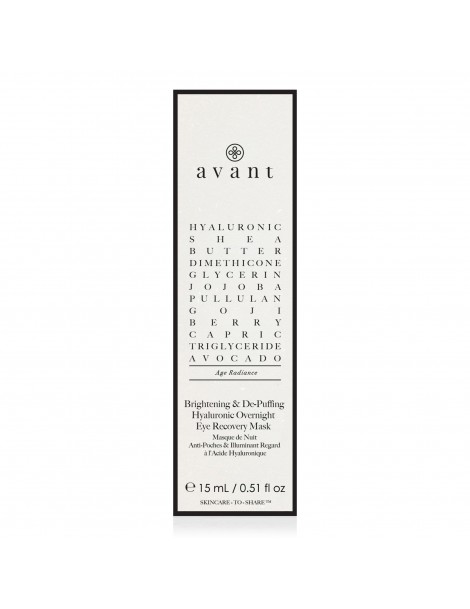 Brightening & De-Puffing Hyaluronic Overnight Eye Recovery Mask - 3