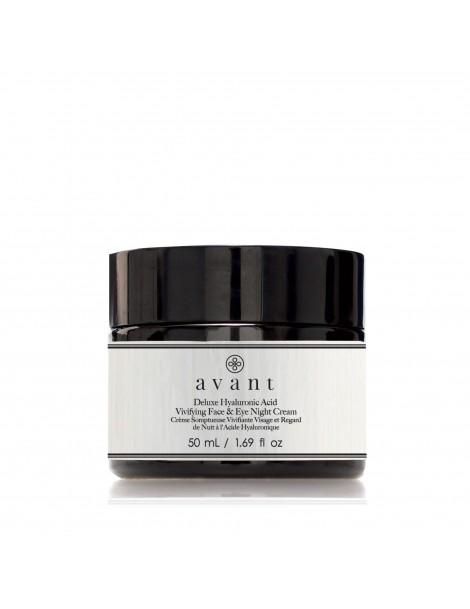 Deluxe Hyaluronic Acid Vivifying Face & Eye Night Cream 2