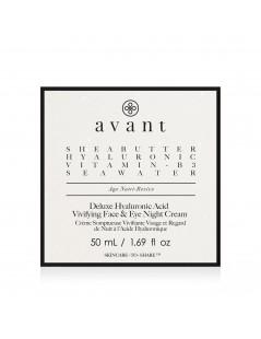 Deluxe Hyaluronic Acid Vivifying Face & Eye Night Cream 3