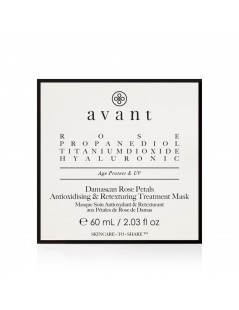 Damascan Rose Petals Antioxidising & Retexturing Treatment Mask - 3