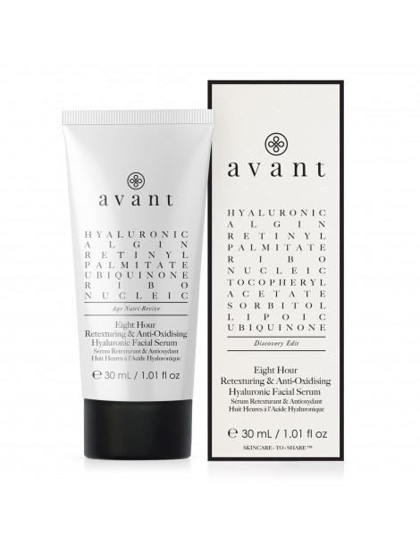 Discovery edit - Eight-hour Anti-Oxidising & Retexturing Hyaluronic Facial Serum - 1