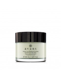 Intense Acne Battling & Purifying French Green Clay Mask - 2