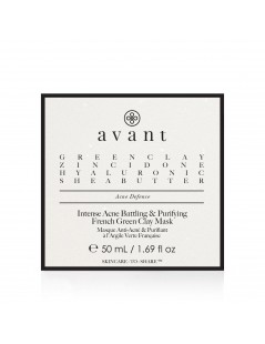 Intense Acne Battling & Purifying French Green Clay Mask - 3