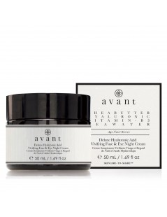 Deluxe Hyaluronic Acid Vivifying Face & Eye Night Cream