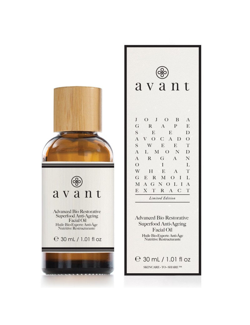 LIMITED EDITION Azione avanzata Bio Restorative Superfood olio viso - (Anti-età)