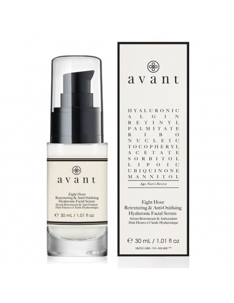 Eight Hour Retexturing  & Anti-Oxidising Hyaluronic Facial Serum