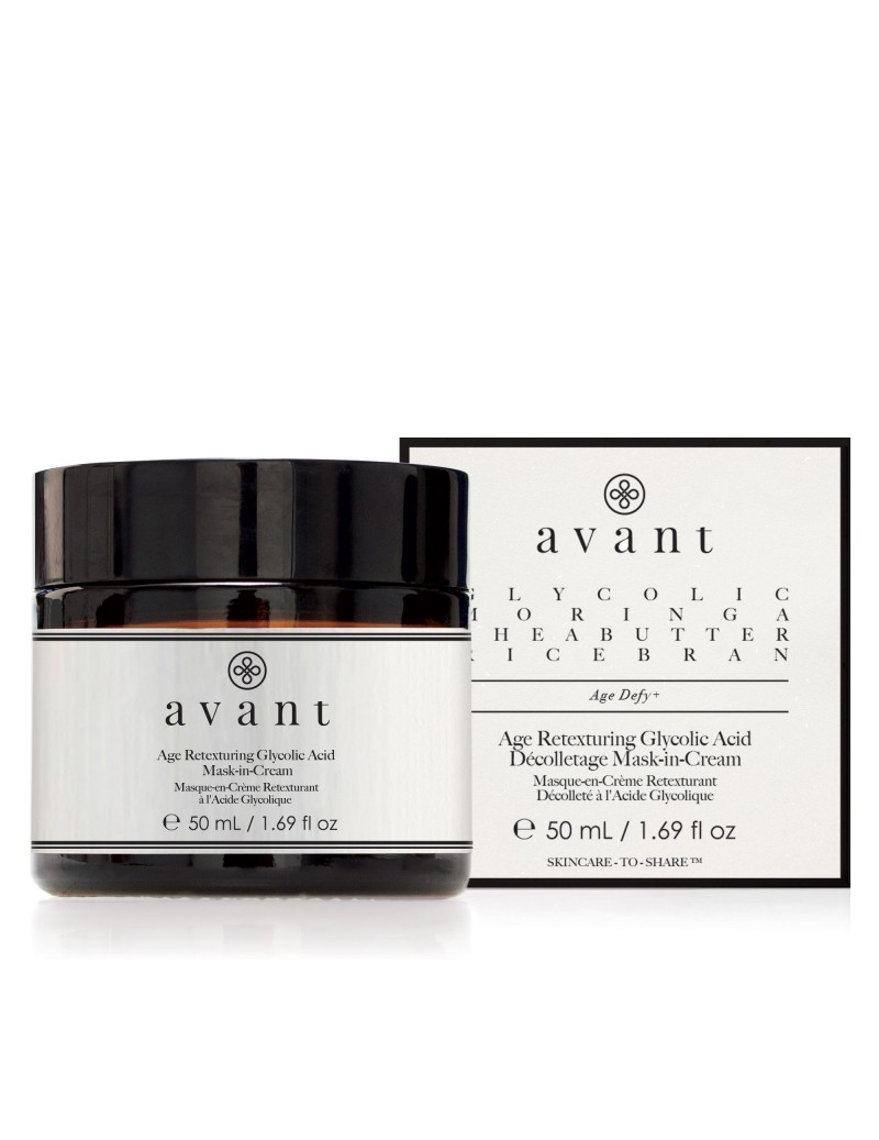 Age Retexturing Glycolic Acid Mask-in-Cream