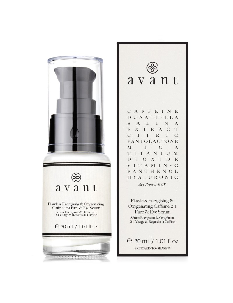 Flawless Energising & Oxygenating Caffeine 2-1 Face & Eye Serum