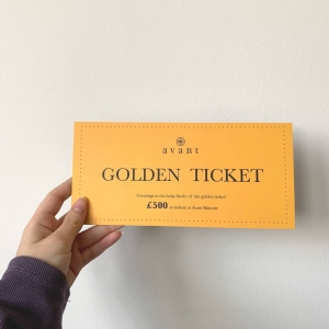 Only a few more days left to be in with a chance of winning a Golden Ticket ⭐ ​ ​Place your order before midnight on Sunday ⏰