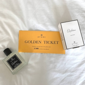 Why not treat yourself to our signature fragrance, Quintessence?  Remember any order placed between now and midnight on the 11th of April could come with one of our £500 Golden Tickets inside⭐